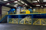 Sorting Conveyors at Merthyr Tydfil County Borough Council's Pentrebach MRF