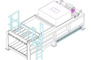Closed End Waste Baler Assembly Drawing