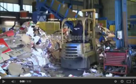 HB Pre Press Baler Video