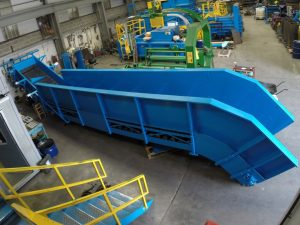 In-Floor conveyor solution