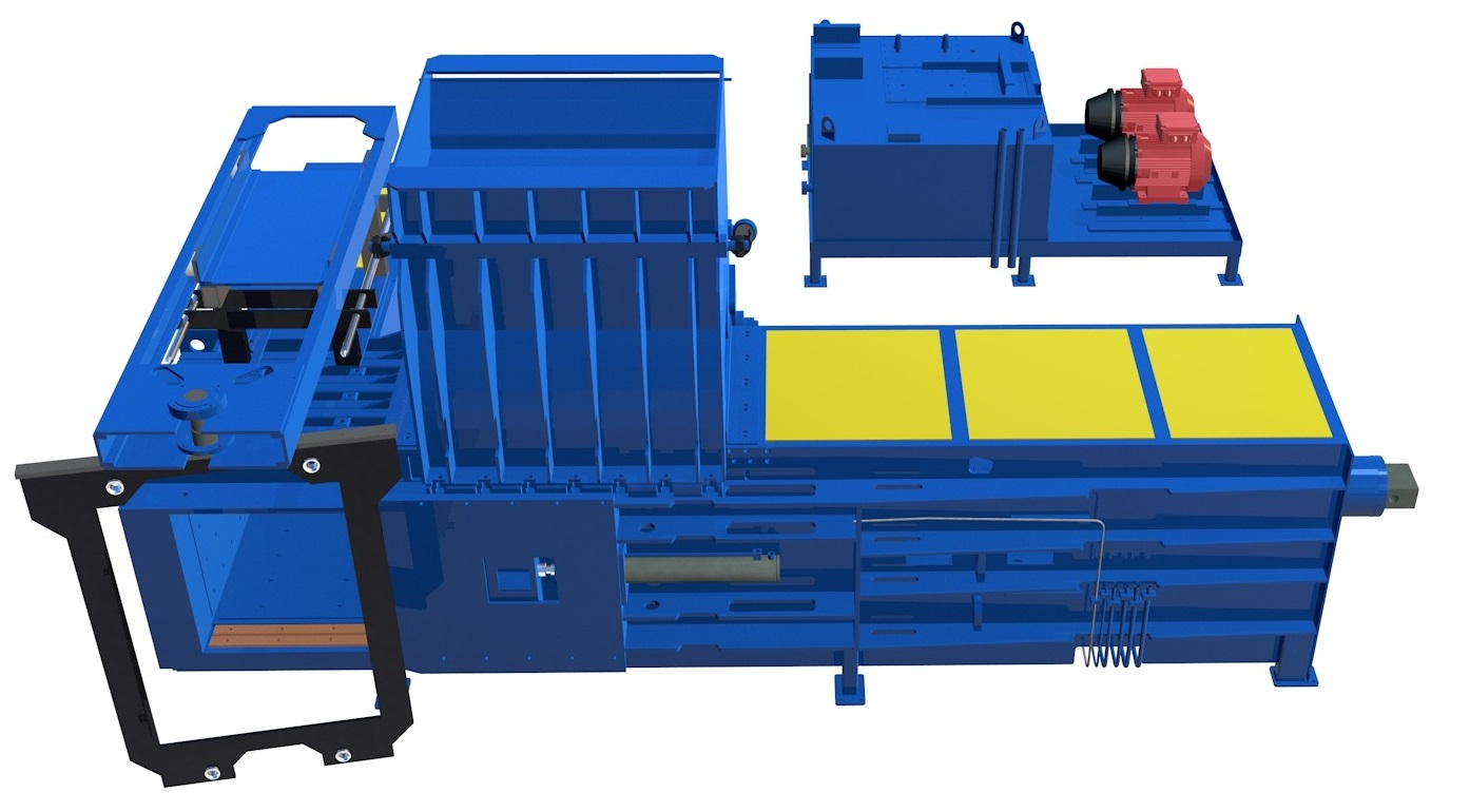 Materials Recovery Facilities Waste Baler
