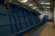 Waste Storage Bays and Pit Conveyor