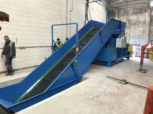 Polymer Industries_ME baler & conveyor 3