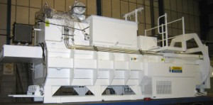 recycling waste baler white